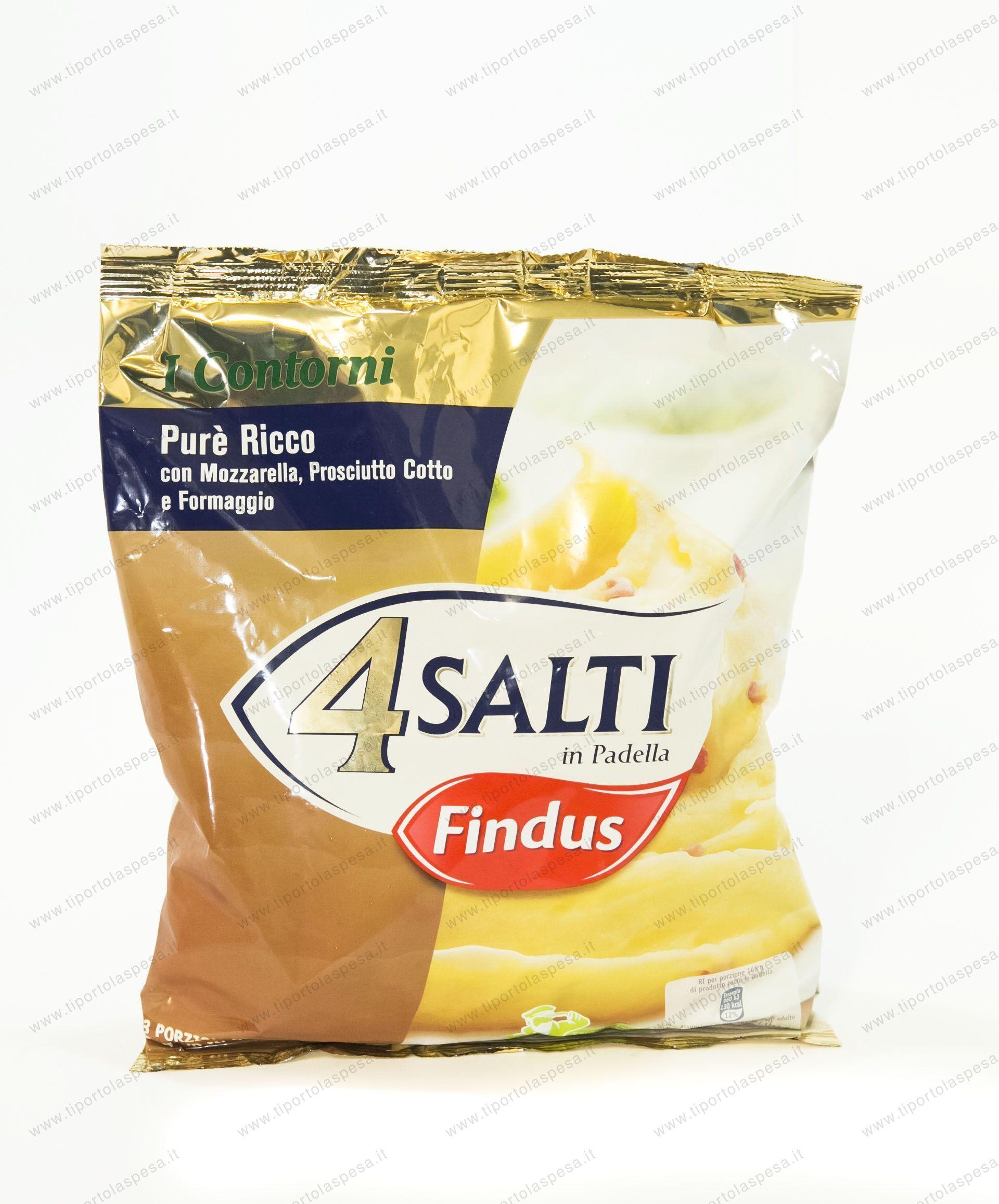 Findus 4 salti in padella pure ricco for Cucinare 4 salti in padella