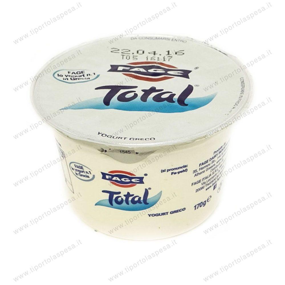 Yogurt greco total fage for Yogurt greco land