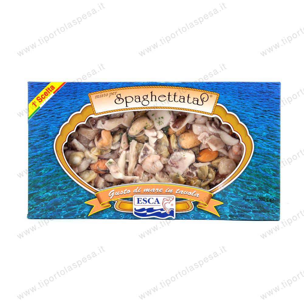 Misto Di Pesce Surgelato Per Spaghettata Esca Gr 500 Www Tiportolaspesa It