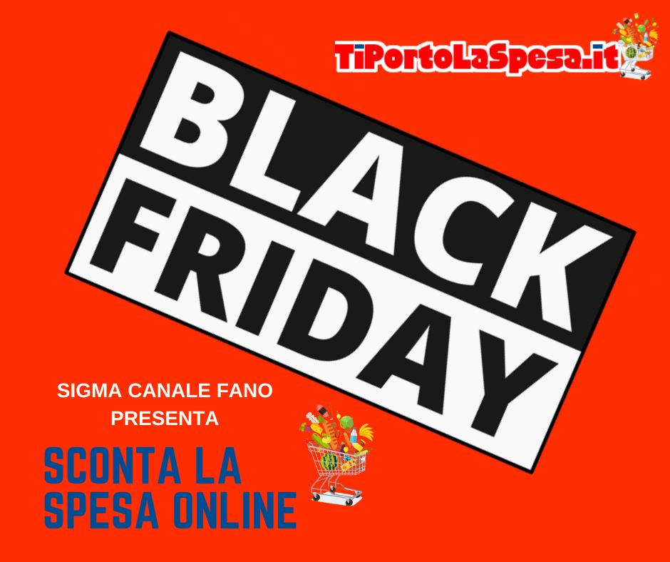 Black Friday - sconta la spesa onlina