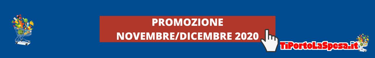 Promozione novembre/dicembre 2020 Tiportolaspesa.it